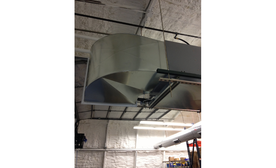 Adding AC to a warehouse