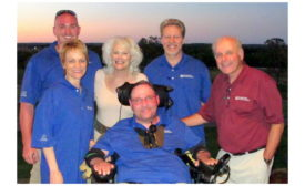 Board members of the Joseph Groh Foundation.