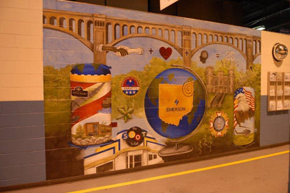 New mural celebrates the Copeland Scroll anniversary