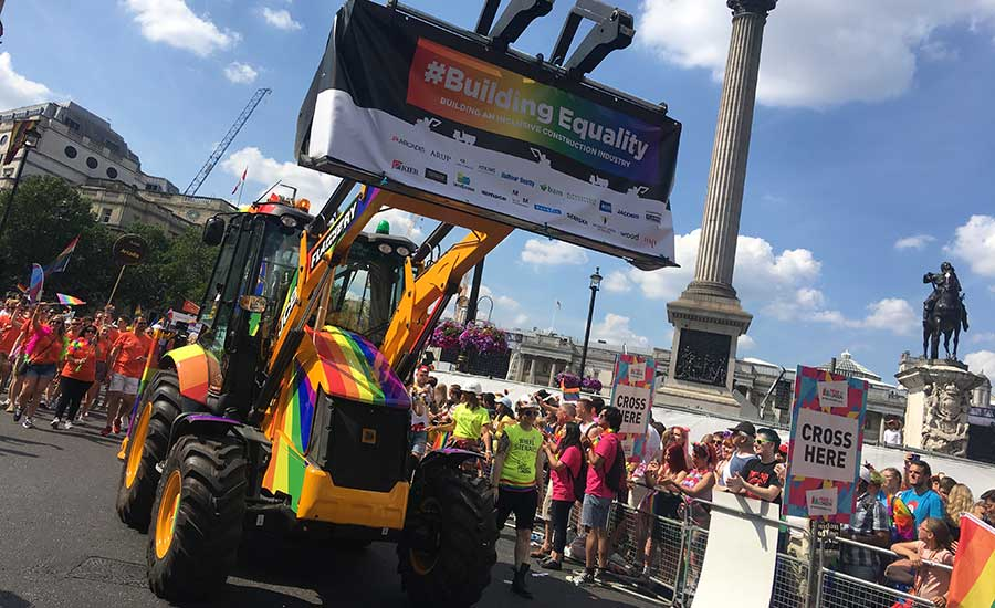 London Pride for Building Equality