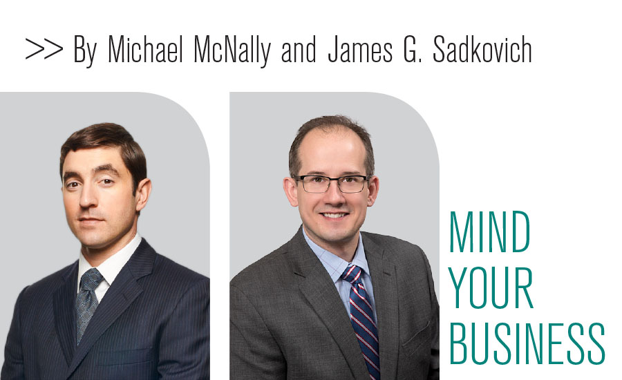 Michael McNally and James G. Sadkovich