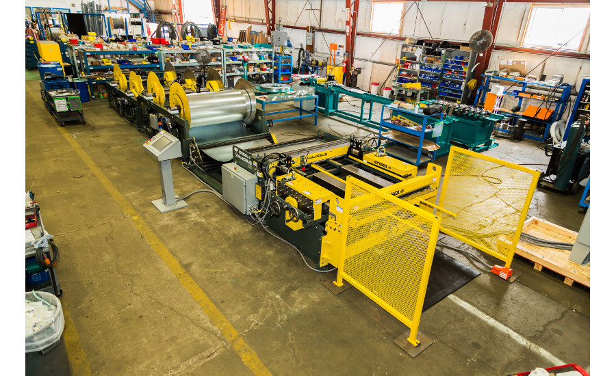 Sheet metal machinery purchases quickly reap benefits, experts say