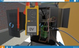 Interplay Learning HVAC training interface