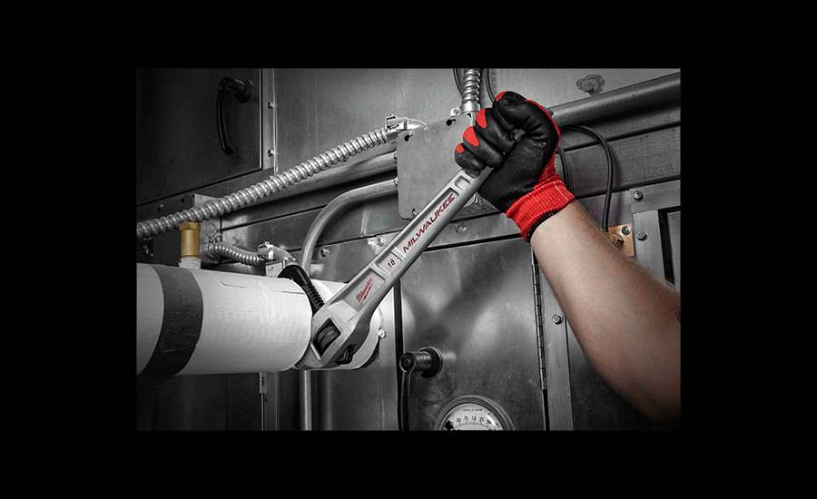 Milwaukee introduces the 10L Pipe Wrench