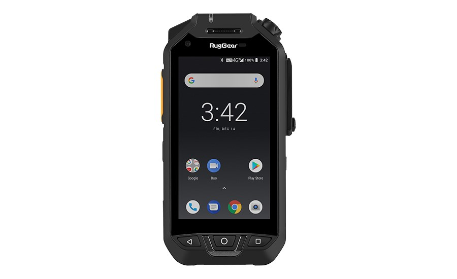RugGear push-to-talk smartphone