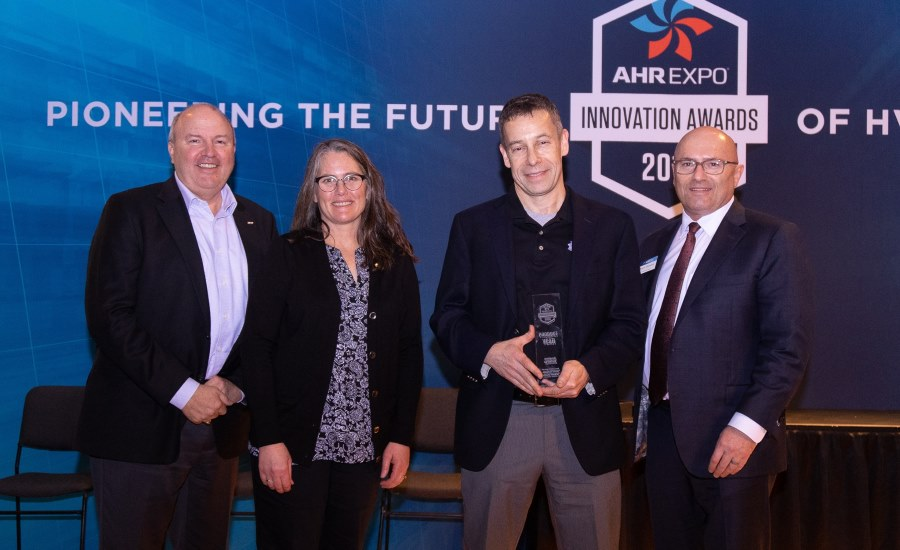 enverid accepts Product of the Year Award at AHR