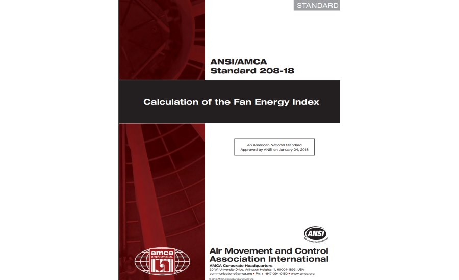 AMCA Fan Energy Index