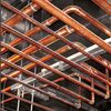 Plumbing copper pipe