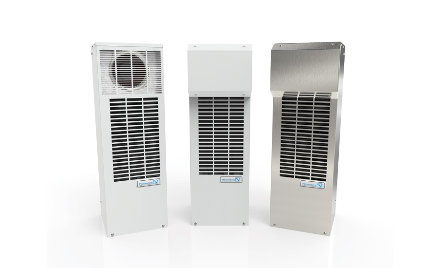 Pfannenberg's DTS 3000 side mount cooling units are ideal for industrial or outdoor applications