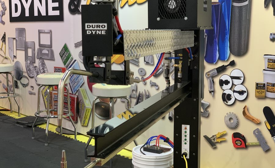 Duro Dyne spot welder at AHR