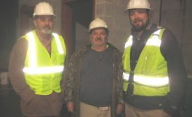 Spiral ductwork construction team