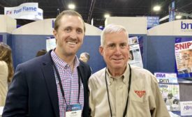 John Newland and Tim Walsh at the AHR Expo