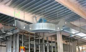 Ductwork at MetLife building