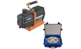 NAVAC vacuum pump and AccuTools kit