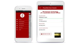 Surefire Punchlist mobile app interface