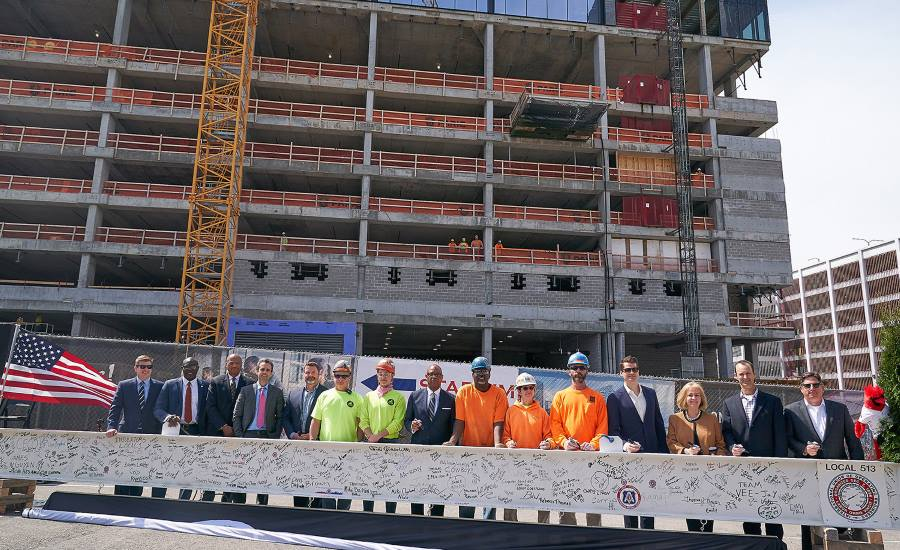 St. Louis Cardinals and the Cordish Companies construction team