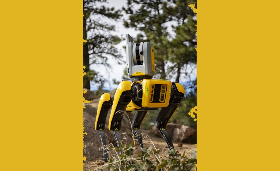 Boston Dynamics Robot with Trimble X7 3D Scanning