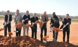 Johnson Controls breaks ground on new facility