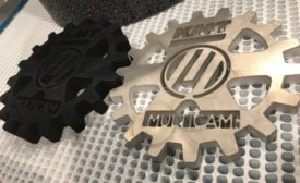 CNC waterjet from MultiCam