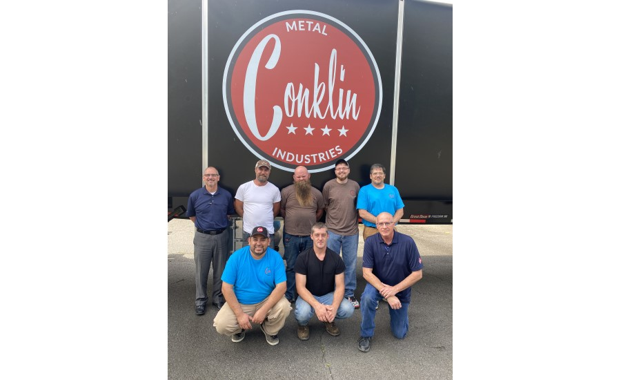 conklin metal Knoxville team