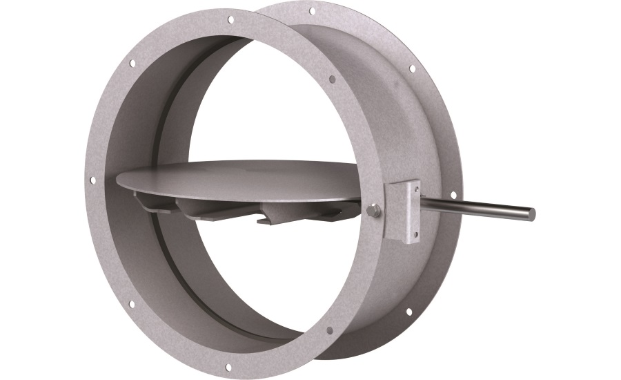 New HVAC Industrial Control Damper for High Velocity, Pressure