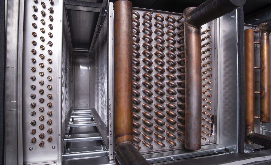 Johnson Controls wrap-around heat exchanger