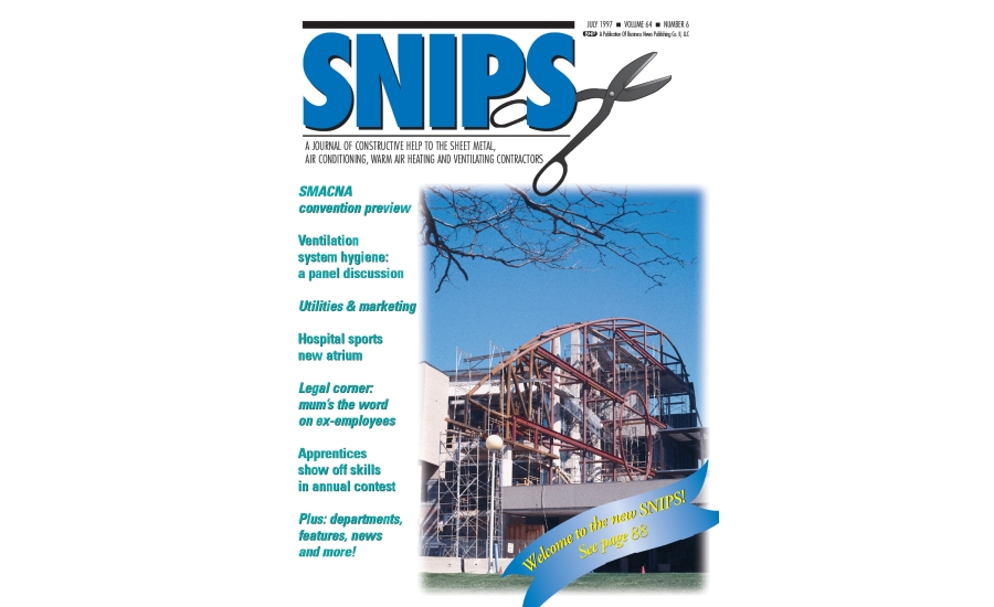 July 1997 Cover SNIPS Magazine