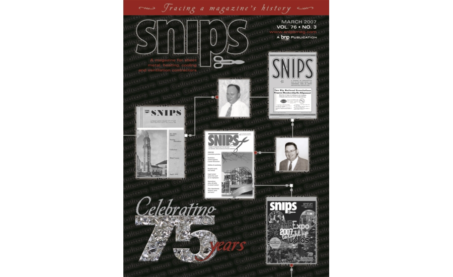SNIPS Magazine 75th Anniversary