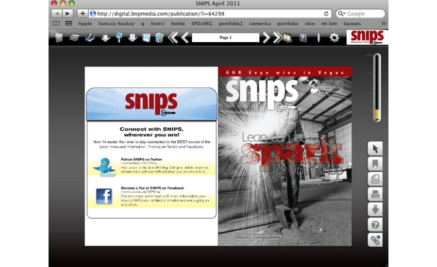 Digital Edition SNIPS Magazine
