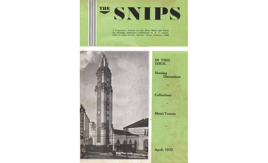 The Snips 1932 cover