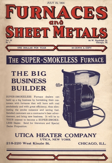 Furnaces and Sheet Metals 1924