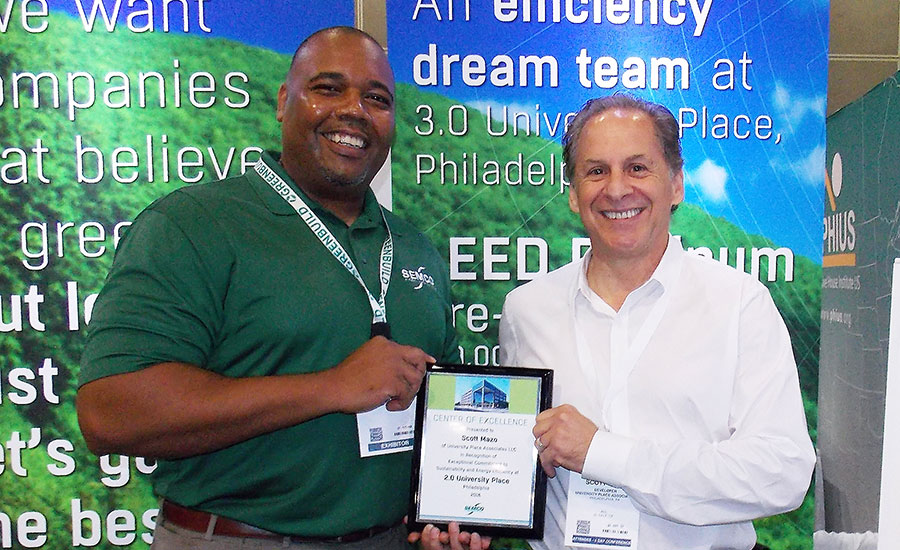 Green HVAC developer receives award
