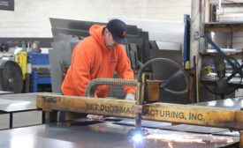 SET ductwork fabrication