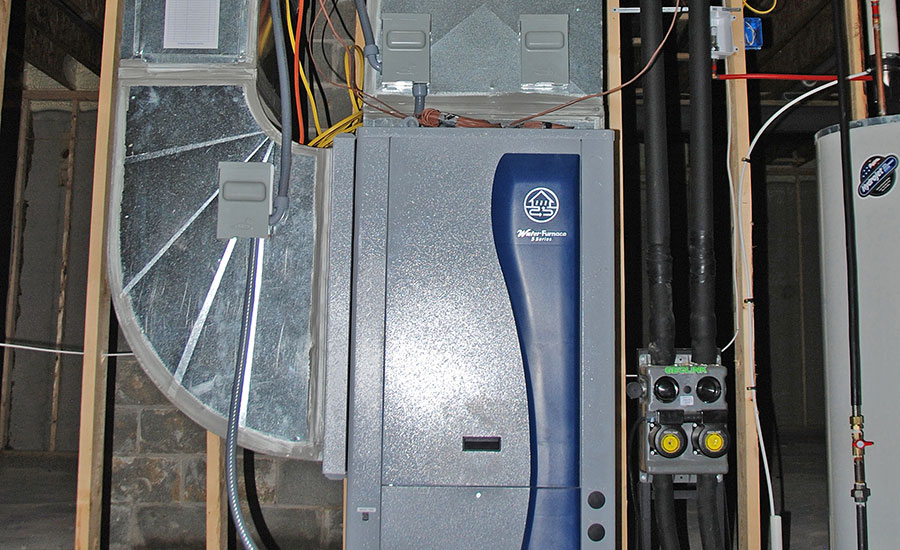ductwork for geothermal green hvac requires special considerations Water Furnace Wiring ...