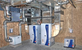 WaterFurnace geothermal HVAC system