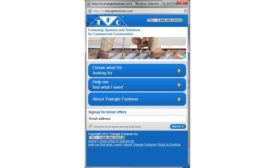Triangle-fastener website is now responsive