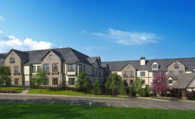 The Sheridan Assisted living facility