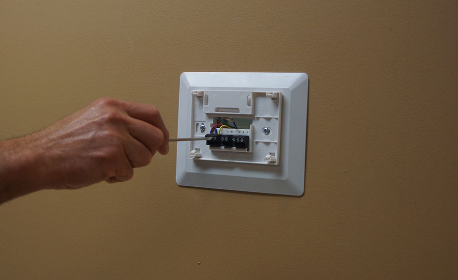 Wall-mounted Wi-Fi thermostats have become easy to install and use, manufacturers say.