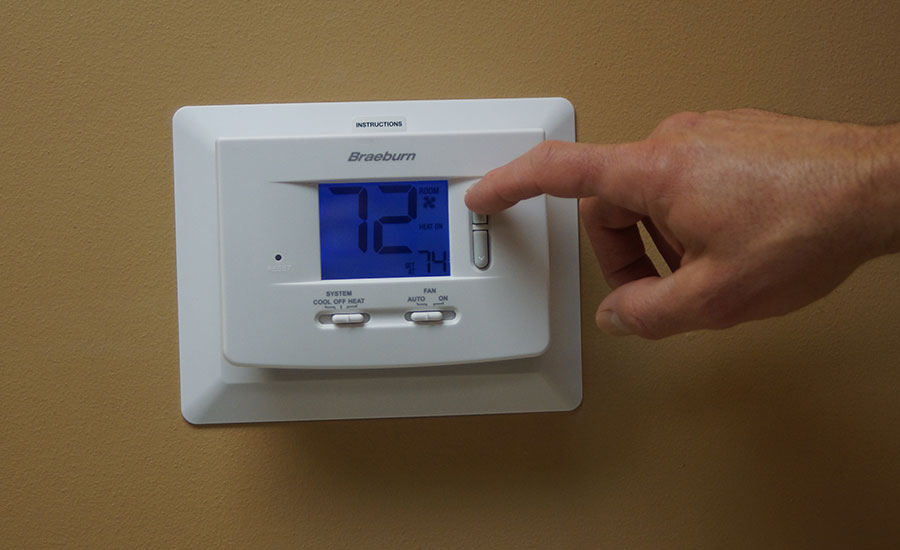 Wi-Fi thermostats can connect with homeowners' smartphones
