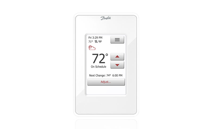 Danfoss introduces thermostat with Wi-Fi connectivity