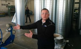 Rich Styles, Elite Air Products general manager, talks about the company's spiral duct products.
