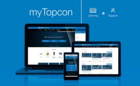 The myTopcon support and training site is mobile-friendly and allows users to customize their learning experience.