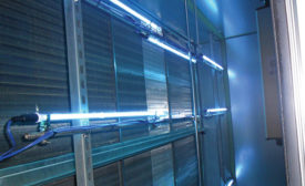 Germ-killed ultraviolet lighting from Fresh-Aire UV controls microbe growth in HVAC systems, the company says.