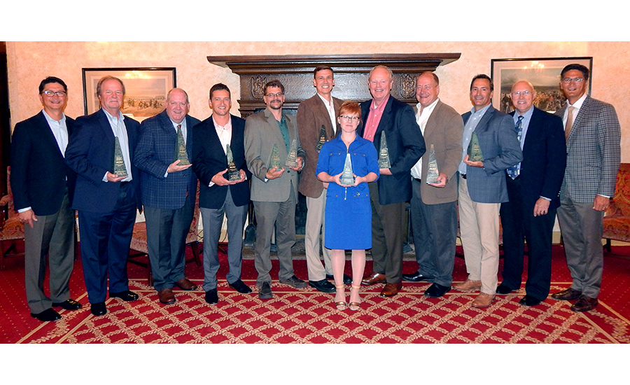 Gustave A. Larson Co. names sales rep winners