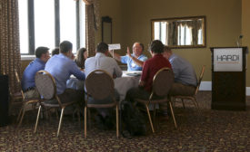 HARDI President Tom Roberts advises young industry professionals