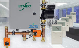Semco's Neuton Multiple Zone chilled beam pump module has new features