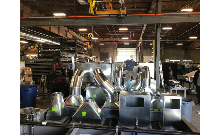 Manifold' ductwork represents major industry change