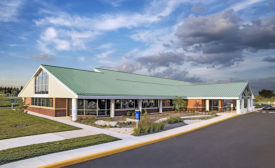 Facility with metal panels earns green certification