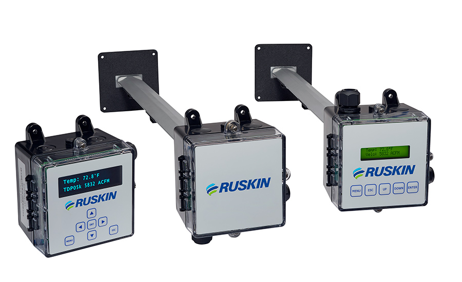 Ruskin releases thermal dispersion air measurement system