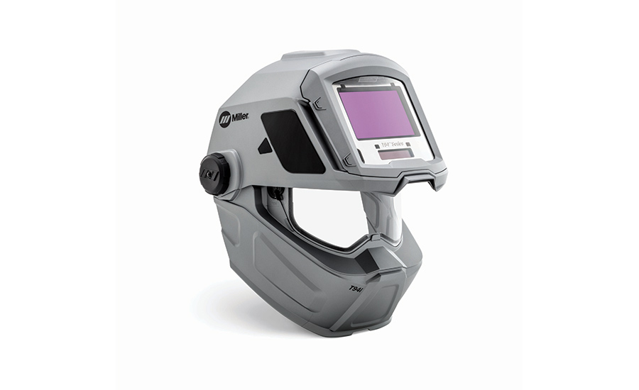 Miller Electric welding helmets designed to reduce neck strain, officials say